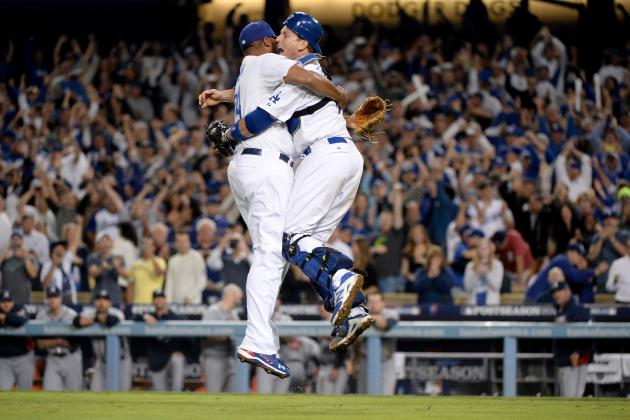 Video, Twitter Reaction for Dodgers Celebrating Trip to NLCS
