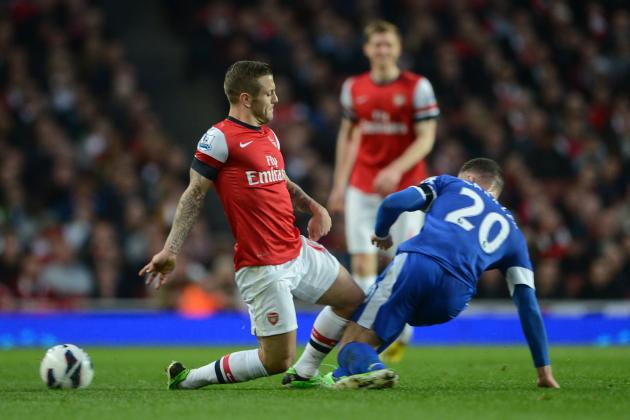Arsenal's Mathieu Flamini Claims Jack Wilshere Is Targeted by Midfield Kickers