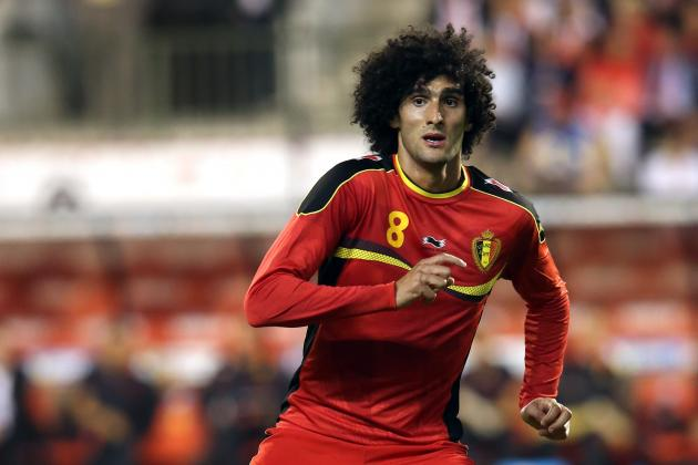 Manchester Utd Should Respect Belgium's Desire to Play Injured Marouane Fellaini