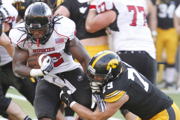 NIU Running Back Stingily Arrested for Failure to Appear in Court