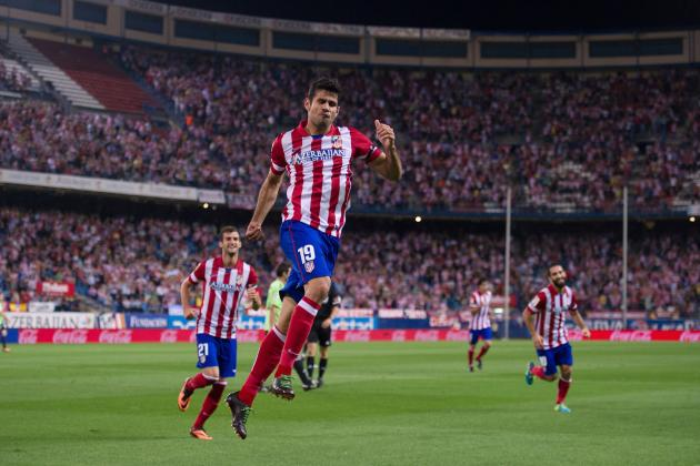 Diego Costa: The Bruising Atletico Striker Who Could Be Spain's Hero