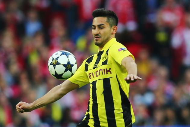 Manchester United Reportedly Target Ilkay Gundogan of Borussia Dortmund