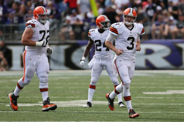 Teammates Want Weeden to Get the Ball out Quickly and 'just Trust Us'