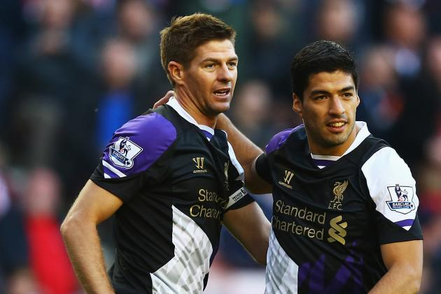 Luis Suarez Claims Steven Gerrard Convinced Him to Remain with Liverpool