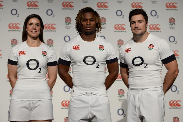England Reveal New Home Rugby Kit for 2013/14 Season