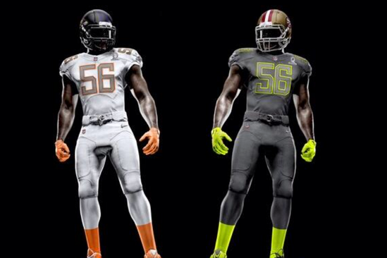 NFL Nike Elite 51 Uniforms Revealed for 2014 Pro Bowl
