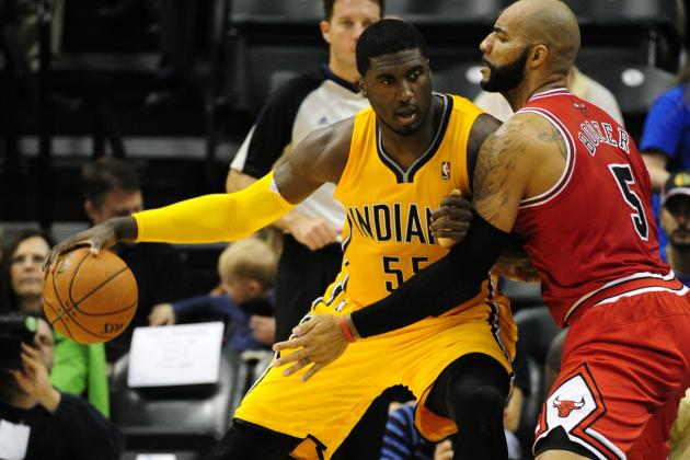Hibbert Working on New Offensive Moves