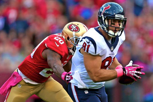 Owen Daniels Injury: Updates on Texans TE's Leg and Return