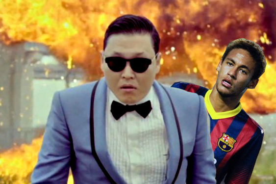 Neymar and Brazil Are More Popular Than 'Gangnam Style' in Korea
