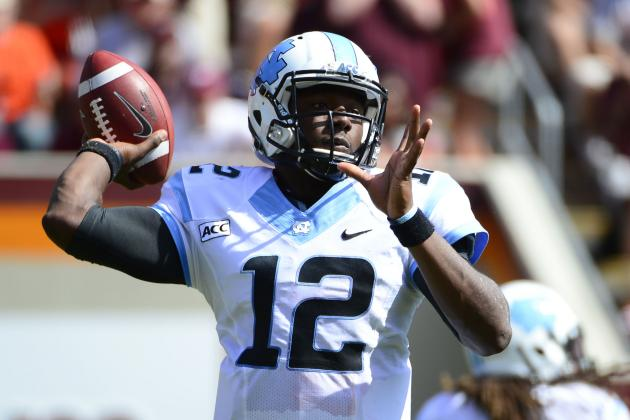 QB Marquise Williams, Making His First Start, a Bright Spot in Loss
