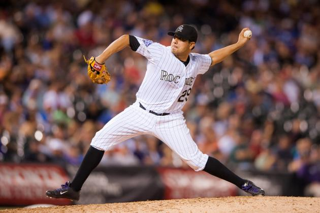 Rockies Exercise 2014 Option for Jorge De La Rosa