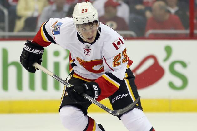 Monahan Making It Tough for Flames to Send Him Back to Junior
