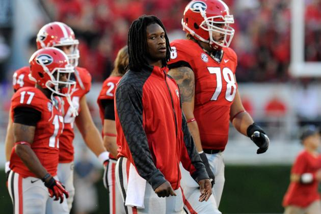 Missouri vs. Georgia: Do Bulldogs Need Todd Gurley to Beat the Tigers?