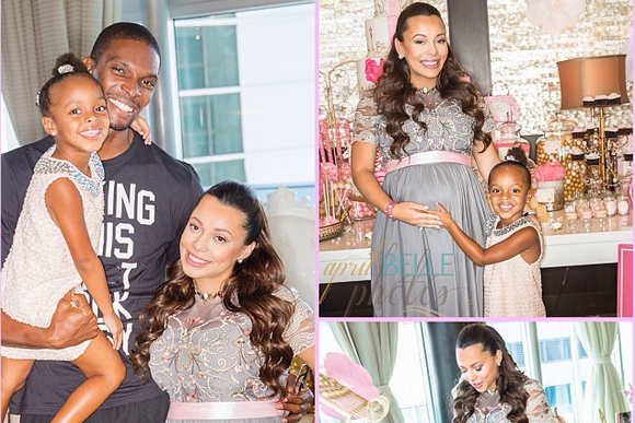 Adrienne Bosh's Baby Shower Was Pretty Decadent