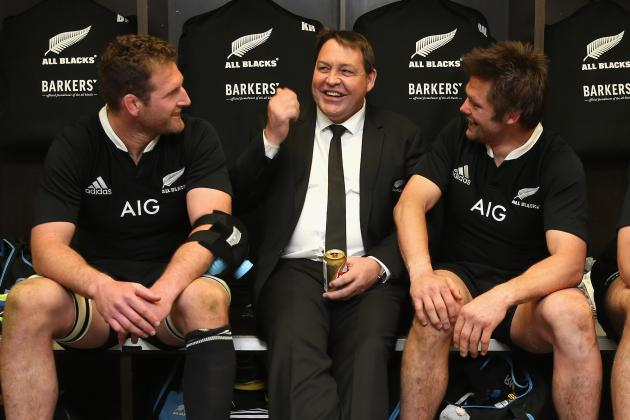 All Blacks Coach Steve Hansen Proud After Tense Win over Springboks