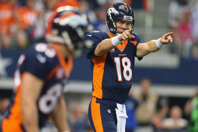 Debate: How Many TDs Will Peyton Manning Throw for vs. Jaguars?