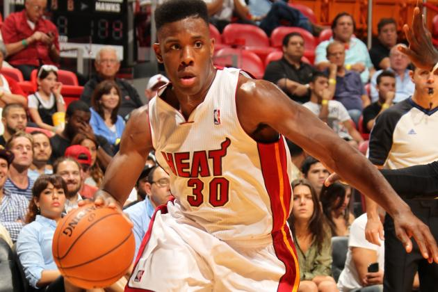 Cole Becomes Lone Player Under Contract to Heat for 2014-15