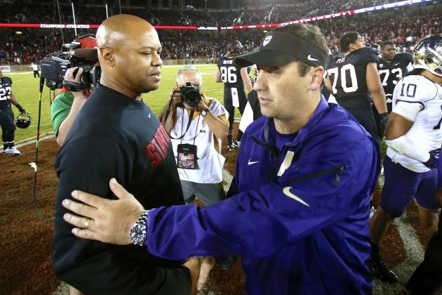 Stanford's David Shaw Blasts Washington's Steve Sarkisian over Faking Injuries