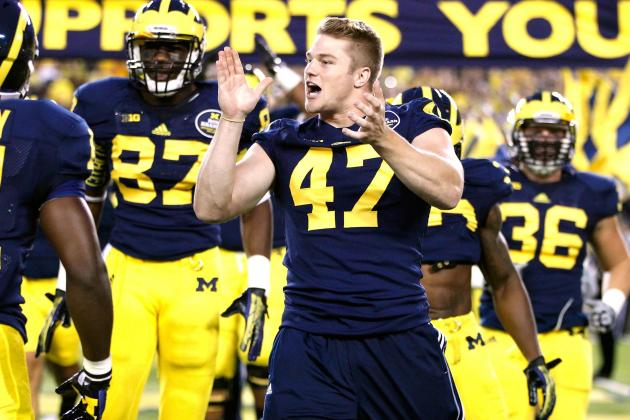 Big Ten Notebook: Michigan Won't Rush Return of Jake Ryan