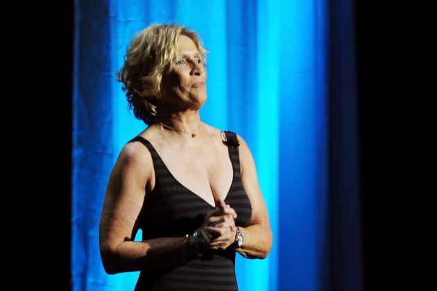 Diana Nyad Swimming 2 Days Straight to Raise Money for Hurricane Sandy Relief