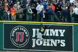Tigers vs. A's Video: Watch Victor Martinez Hit Controversial HR to Tie Game 4