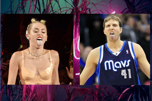 Proof That Miley Cyrus Is Heavily Influenced by Dirk Nowitzki