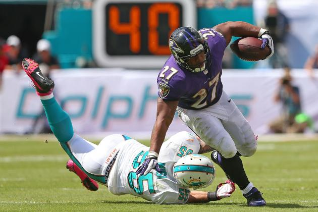 Breaking Down Ray Rice's Versatility in the Ravens Offense