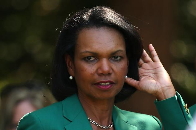 Condi Rice on Playoff Selection Committee? Why That's a Good Thing