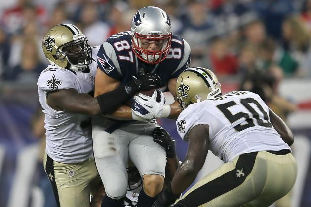 Was Patriots' Keeping of TE Rob Gronkowski on Active Roster a Waste of a Spot?
