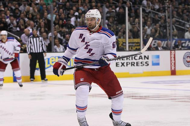 Rick Nash Injury: Updates on Rangers Star's Head, Likely Return Date