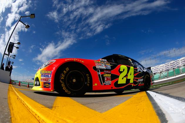 Is Jeff Gordon's 2013 Breakthrough Performance on the Horizon?