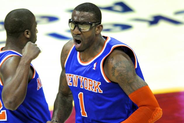 Amar'e Stoudemire Steps Up Workouts, but His Return Remains a Mystery
