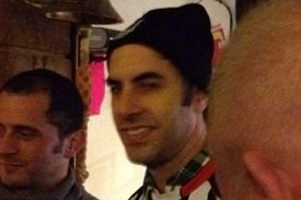 Borat Is Spotted Watching GRIMSBY TOWN, but Why?