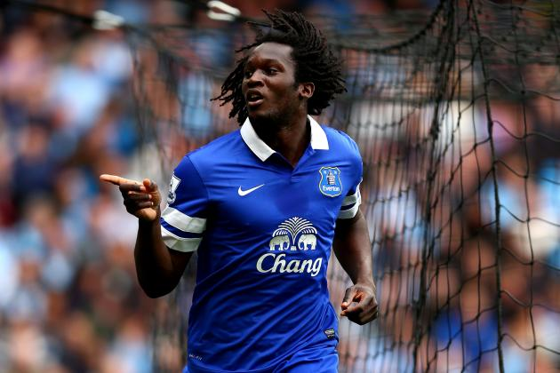 Romelu Lukaku Vows to Outscore All Chelsea Strikers, Hopes Everton Finish Higher