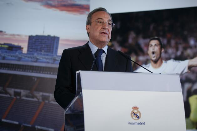 Real Madrid's €541 Million Debt Allegedly Being Hidden by Florentino Perez