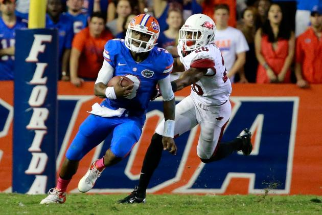 How Florida QB Tyler Murphy Could End LSU's SEC Title Hopes