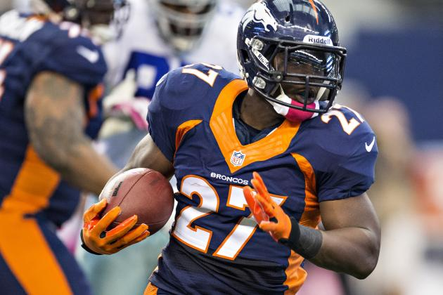 Broncos' Knowshon Moreno Emerges as First-Rate Running Back