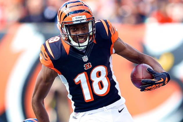 A.J. Green Always Ready to Put in Time—at Work or Play