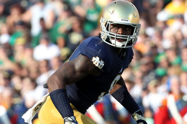 Notre Dame's Jaylon Smith Continues to Grow