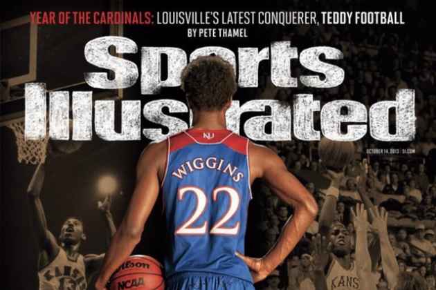 Sports Illustrated Features Top 2014 NBA Draft Prospect Andrew Wiggins on Cover
