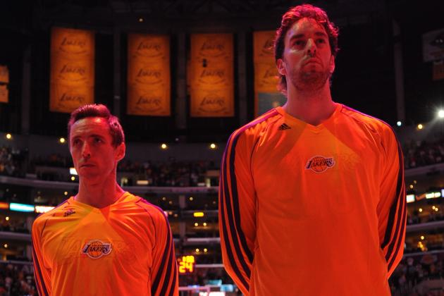 Debate: Who Will Have a Bigger Bounce Back Year -- Gasol or Nash?