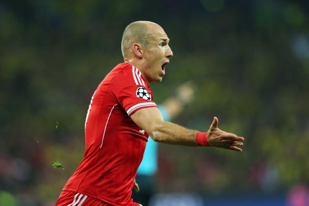 The Evolution of Bayern Munich's Flying Winger Arjen Robben