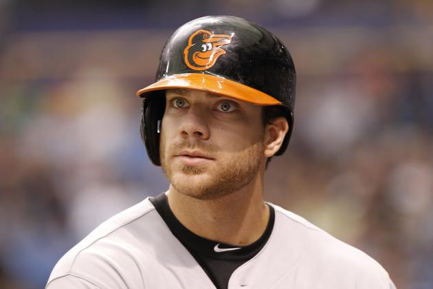 Orioles Chris Davis Picked as Team's Nominee for Hank Aaron Award