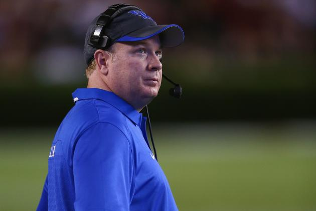 Kentucky's Mark Stoops Senses 'a Little Bit of Urgency' with No. 1 Alabama