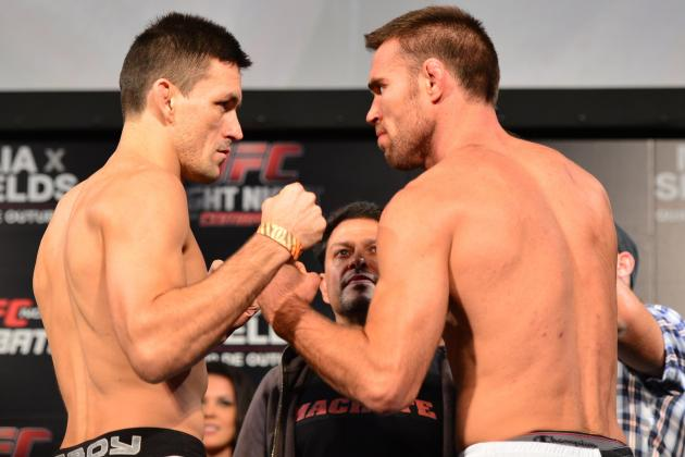 UFC Fight Night 29 Live Results: Play-by-Play and Highlights of Maia vs. Shields