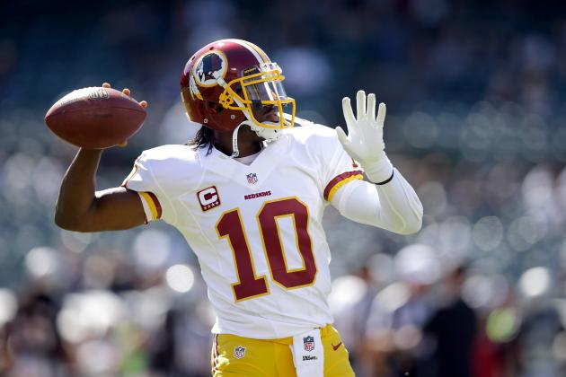 Robert Griffin III Will Return to Fantasy Football Excellence Following Bye Week