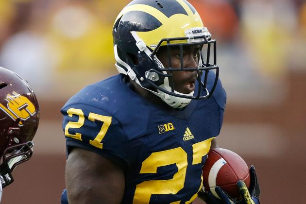 Developing Derrick Green at Michigan Takes Pressure off Fitz Toussaint
