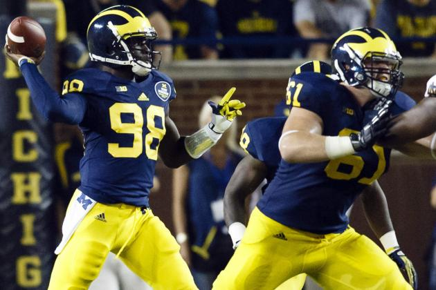 Michigan's Graham Glasgow Has Shed Walk-on Role in Name Only
