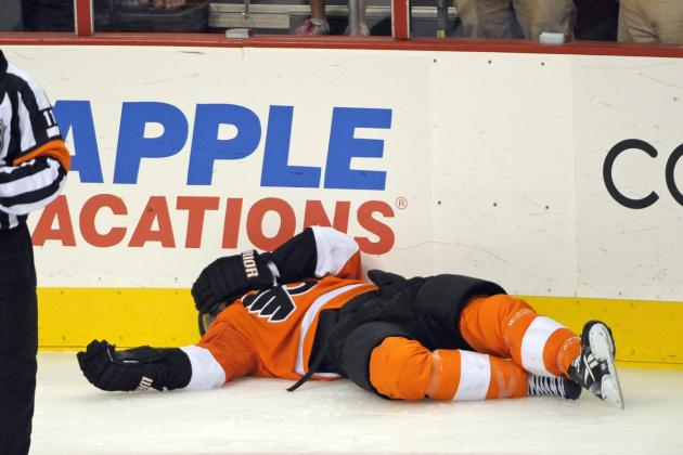Flyers Notes: Hartnell Avoids Serious Injury