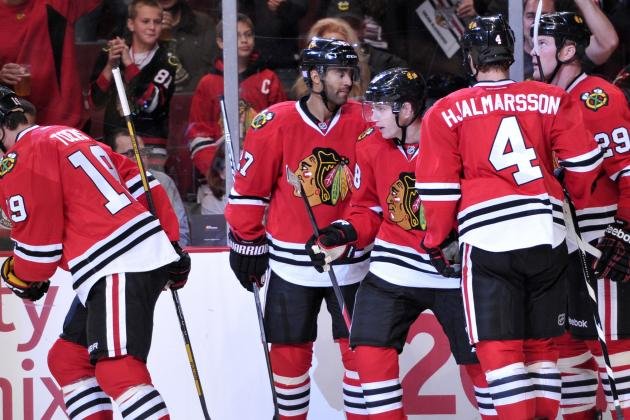 Blackhawks, Toews Ready for 'First Playoff Game'